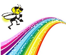 Rainbow Fireflies